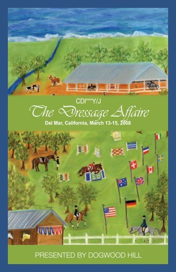 Dressage Affaire 2008 Show Program