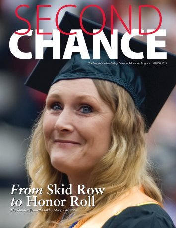 Second Chance Magazine - Lee College