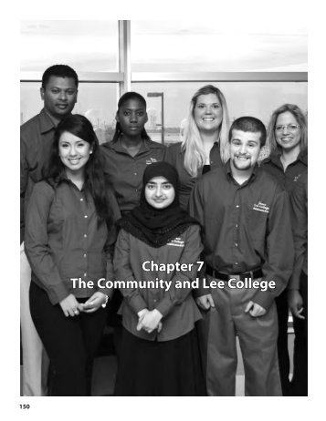 Chapter 7 The Community and Lee College
