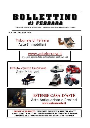 www.asteferrara.it ESTENSE CASA D'ASTE - Ferrara case d'asta