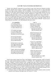 CAP. XIII VIAŢA CULTURALĂ ŞI MUZICALĂ Despre ... - Banaterra