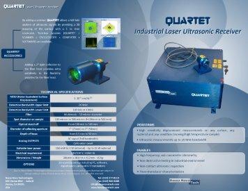 QUARTET Brochure - Bossa Nova Technologies