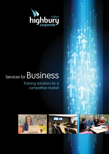 Corporate Brochure - Highbury College