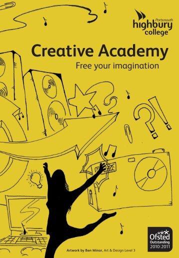 Creative Academy prospectus - Highbury College