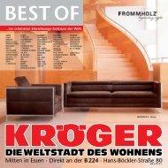 BEST OF - Möbel-Kröger - Die Weltstadt des Wohnens