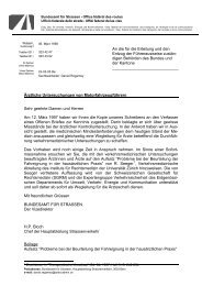 Ärztliche Untersuchungen von ... - ASTRA - Bundesamt für Strassen
