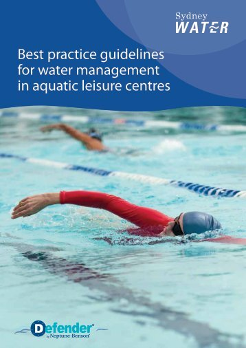 Sydney Water - Best practice guidelines for water ... - Neptune-Benson