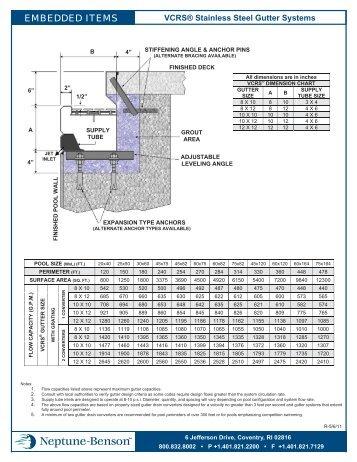 VCRS Specifications & Technical Data PDF - Neptune-Benson
