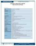 Variable Frequency Drive Specifications Technical Data - Page 2