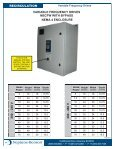 Variable Frequency Drive Specifications Technical Data - Page 3