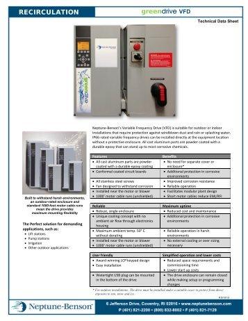 Specifications & Technical Data PDF - Neptune-Benson