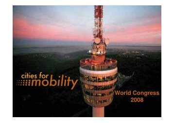 Dr. Wolfgang Schuster, Mayor of Stuttgart June ... - Cities for Mobility