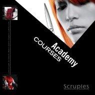 Scruples 2013 Academy Brochure.