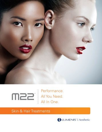 Performance. All You Need. All In One. Skin & Hair Treatments