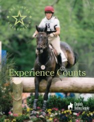 Bonnie Mosser and Jenga - English Riding Supply