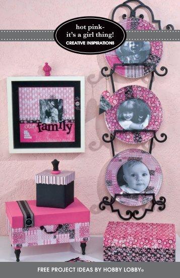 creative inspirations - Hobby Lobby
