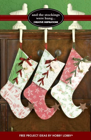 and the stockings were hung... - Hobby Lobby