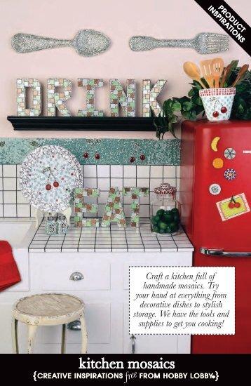 kitchen mosaics - Hobby Lobby