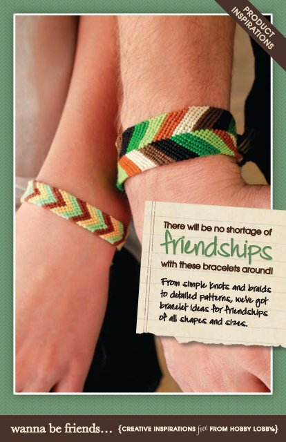 Friendships Hobby Lobby