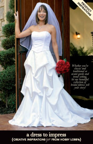 a dress to impress - Hobby Lobby