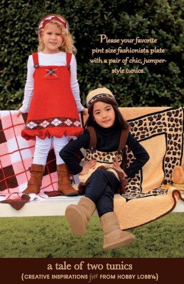 a tale of two tunics - Hobby Lobby