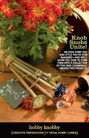 Knob Snobs Unite! - Hobby Lobby