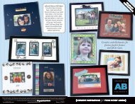 Creative embellishments for picture perfect frames ... - Hobby Lobby