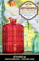 pretty glass bottles pretty glass bottles - Hobby Lobby