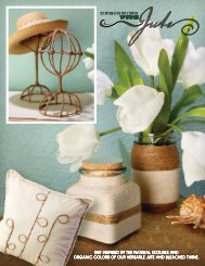 get inspired by the natural textures and organic ... - Hobby Lobby