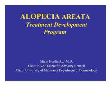 Dr. Maria Hordinsky - National Alopecia Areata Foundation