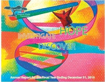 DISCOVER - National Alopecia Areata Foundation