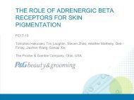 the role of adrenergic beta receptors for skin pigmentation