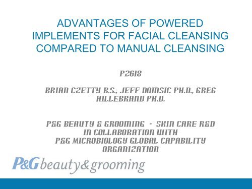 Advantages of Powered Implements for Facial Cleansing