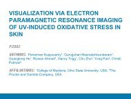 visualization via electron paramagnetic resonance imaging of uv ...
