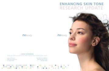Enhancing Skin Tone Research Update - P&G Beauty & Grooming