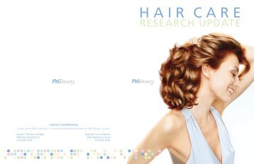 HAIR CARE - P&G Beauty & Grooming