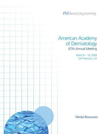 American Academy of Dermatology - P&G Beauty & Grooming