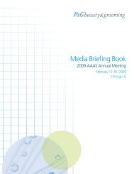 Media Briefing Book - P&G Beauty & Grooming