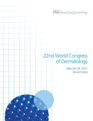 22nd World Congress of Dermatology - P&G Beauty & Grooming