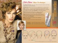 To achieve this look: Using Color Charm Permanent ... - Wella