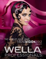 the world's your stage. - Wella