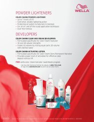 POWDER LIGHTENERS DEVELOPERS - Wella