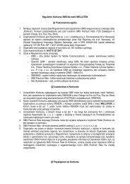 Regulamin Konkursu SMS dla marki WELLATON §1 Postanowienia ...