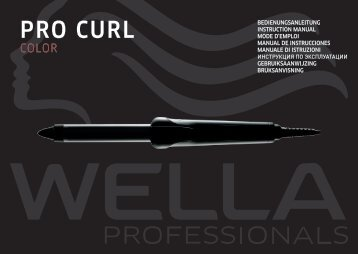 ProCurl color.book - Wella