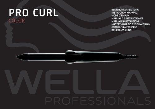ProCurl color.book - Wella