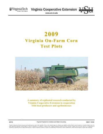 PDF (1 MB) - Virginia Cooperative Extension - Virginia Tech