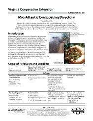 Mid-Atlantic Composting Directory - Virginia Cooperative Extension ...