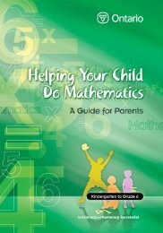 Helping Your Child do Mathematics: A Guide for Parents