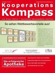 Kooperations - Die erfolgreiche  Apotheke - Fachzeitschrift für die ...