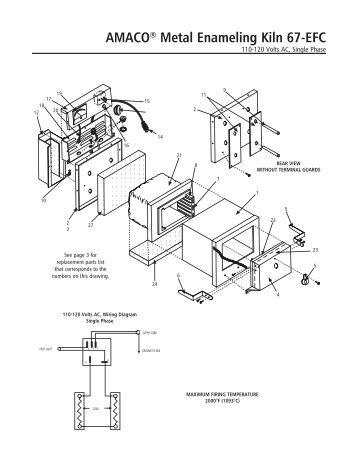 AMACO® Standard Economy Electric Kiln EC-55